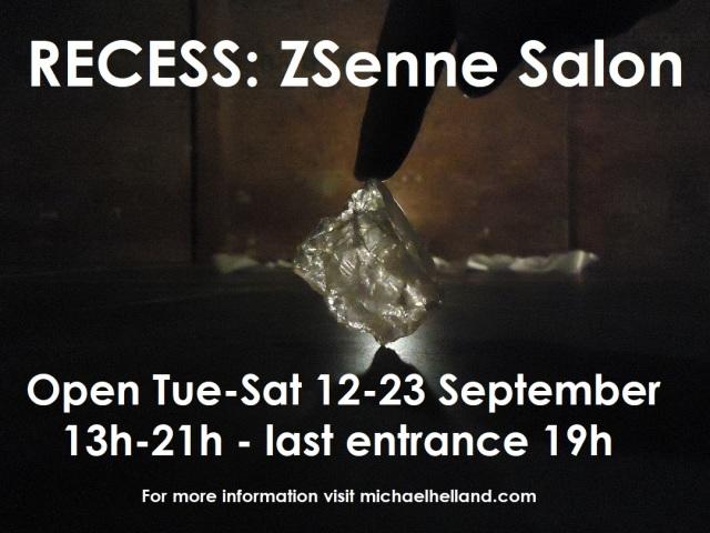 2017 RECESS ZSenne Salon poster