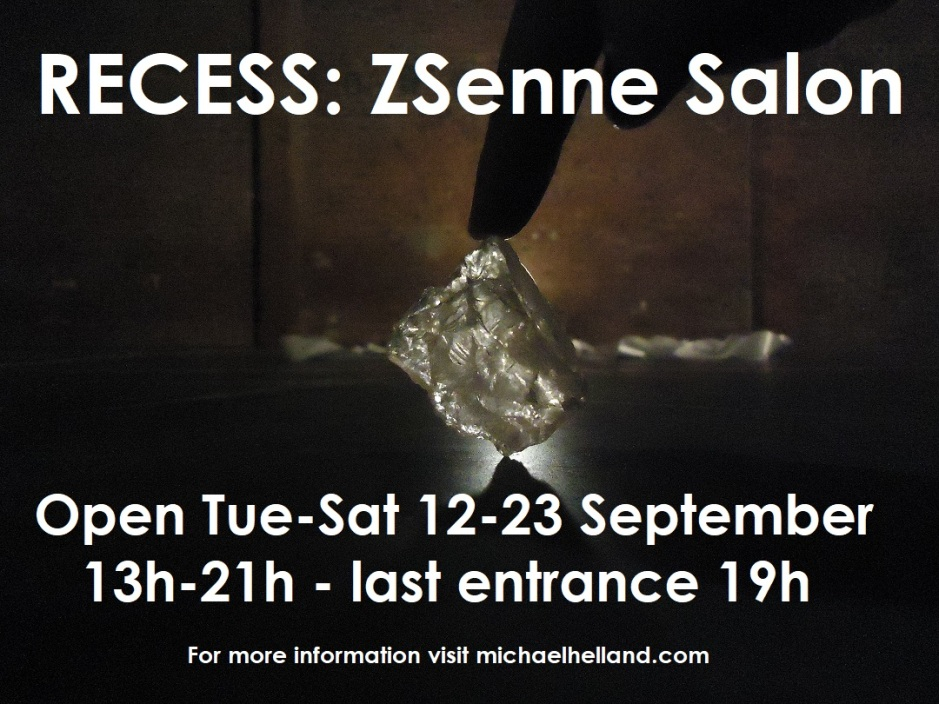 2017 RECESS ZSenne Salon poster